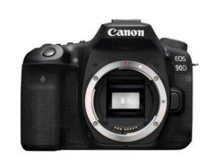 Canon EOS 90D - Brugervenligt og ultra skarp kvalitet