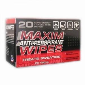 Maxim Antiperspirant Wipes