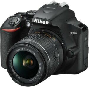 Nikon D3500 - Letvægtskamera med et utroligt stilrent design