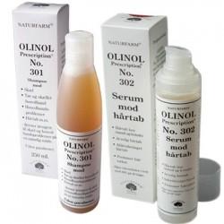 Olinol hårkur no. 302 og shampoo no. 301