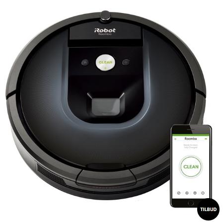 Roomba 981 robotstøvsuger fra iRobot