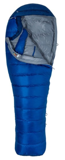 Marmot mens sawtooth - en populær og alsidig sovepose
