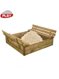 Nordic Play sandkasse 120 x 120