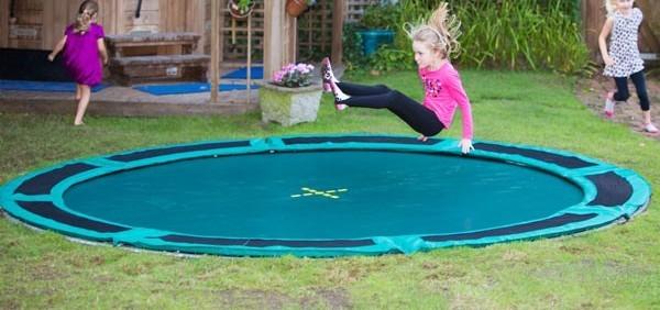 Fersk Trampolin til nedgravning - Her er de bedste nedgravede trampoliner! DJ-52