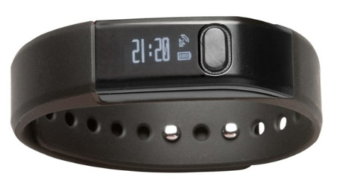 Denver sort fitness armbånd m. app – BFS-10BLACK