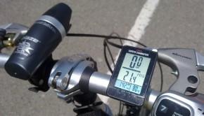 Cykelcomputer test