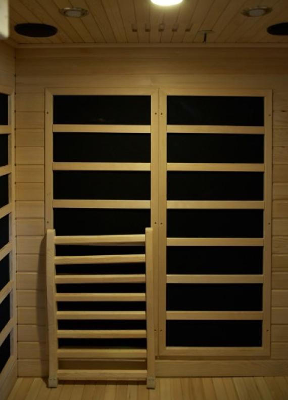 MaXXwell Selvbyggersæt 2200W Infrarød Sauna