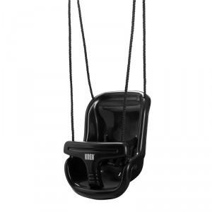 Gynge i sort plast fra Krea
