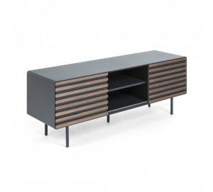 LaForma Mahon Tvbord 162x58 - Mat graphite – Et smukt og tidløst møbel