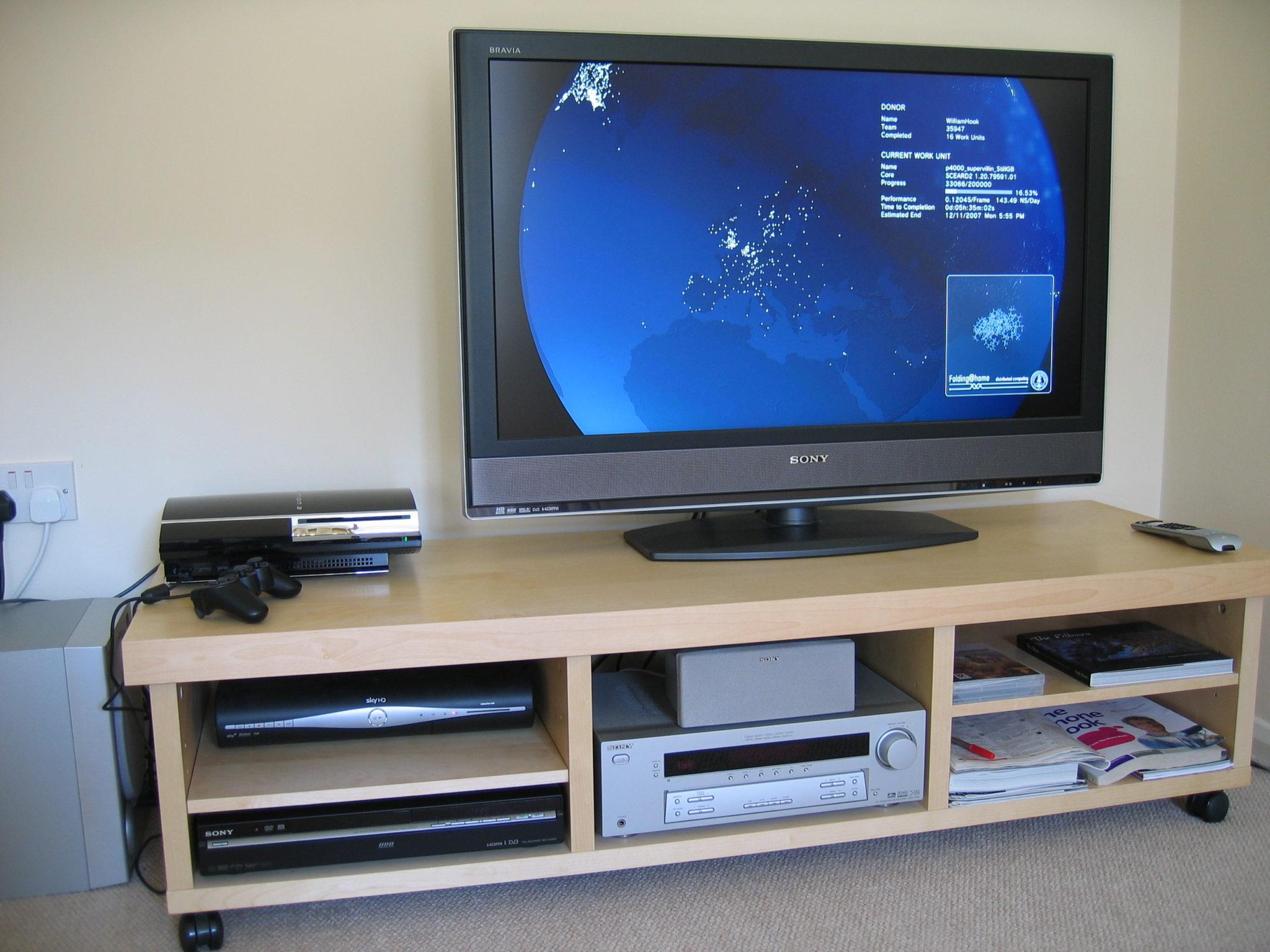 Fabriksnye TV borde til fladskærme – 9 flotte og forskellige modeller MO-48