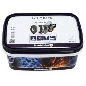 Sundström SR 900 Basic pakke halvmaske – Filtrerer den luft, du skal indånde