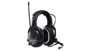 Høreværn med radio og Bluetooth