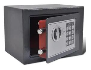 vidaXL digitalt sikkerhedsskab der kan boltres fast