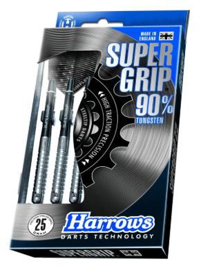 Harrows Supergrip steeltip dartpile sæt