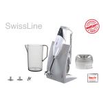 Bamix Swissline i grå/hvid