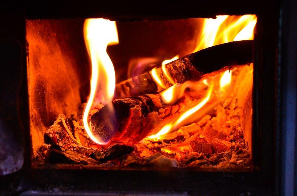 Brændeovn test