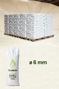 Heatlets Standard 6mm træpiller
