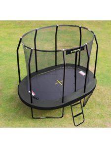 Jumpking Trampolin Oval Black 3,5 x 2,44 m