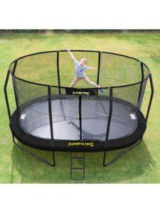 Jumpking Trampolin Oval Black 4,6 x 3,05 m