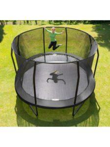 Jumpking Trampolin Oval Black 5,2 x 4,25 m