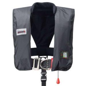 Oppustelig redningsvest med UML Pro Sensor, 300 N