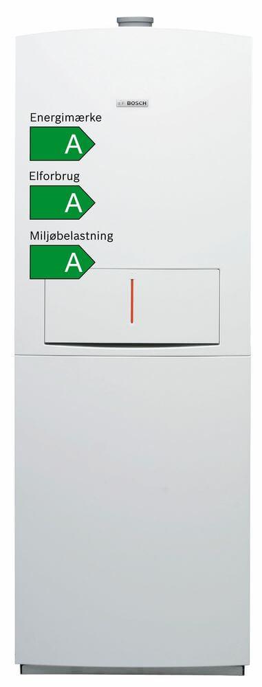 Bosch EuroPur gaskedelunit ZBS 14/150-3 - Gulvstående model med indbygget varmtvandsbeholder