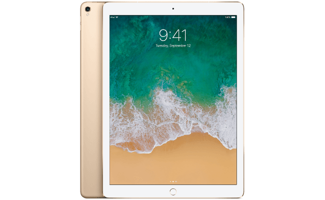 Apple iPad Pro - 12.9 - 512GB - Wifi (Gold) (UK) Included Charger COOLSHOP