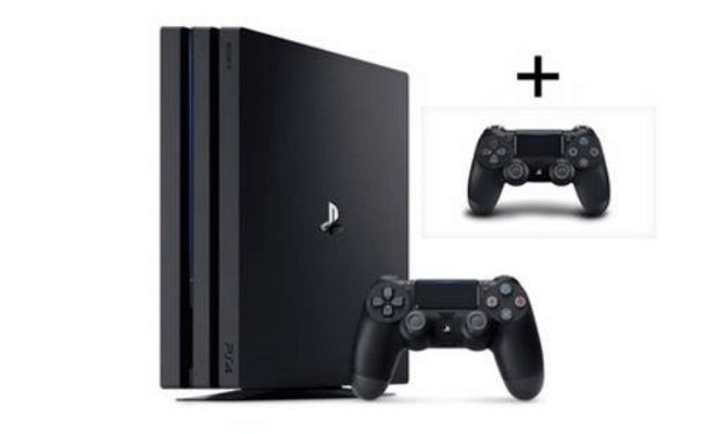 PS4 Pro with extra controller - Leasy